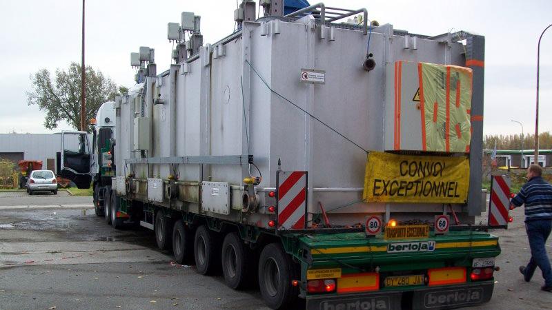 Die RTO-Anlage ist bereit für Transport und Umzug.